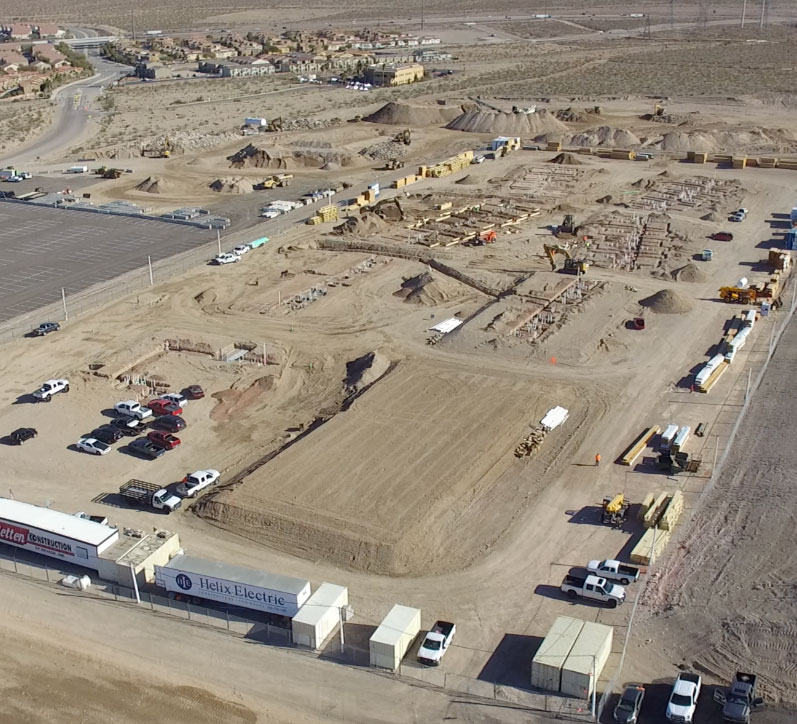 Nevada State Student Housing progress