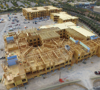 Village 13 project  by National Builders, Inc.