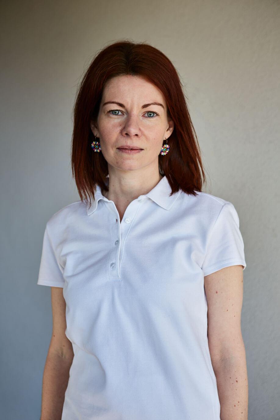 Portrait of Petra Remetean, Physiotherapist