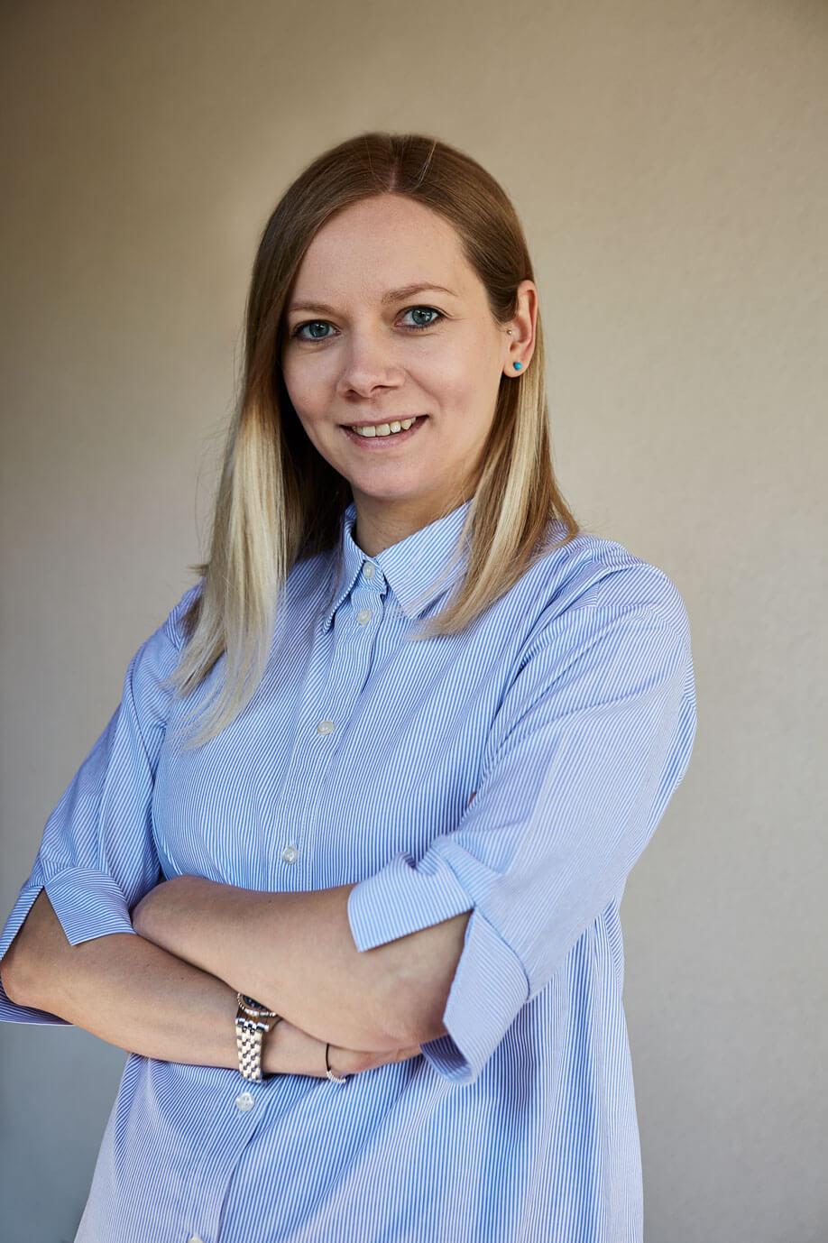 Profile portrait of Georgiana Frunze, Physiotherapist