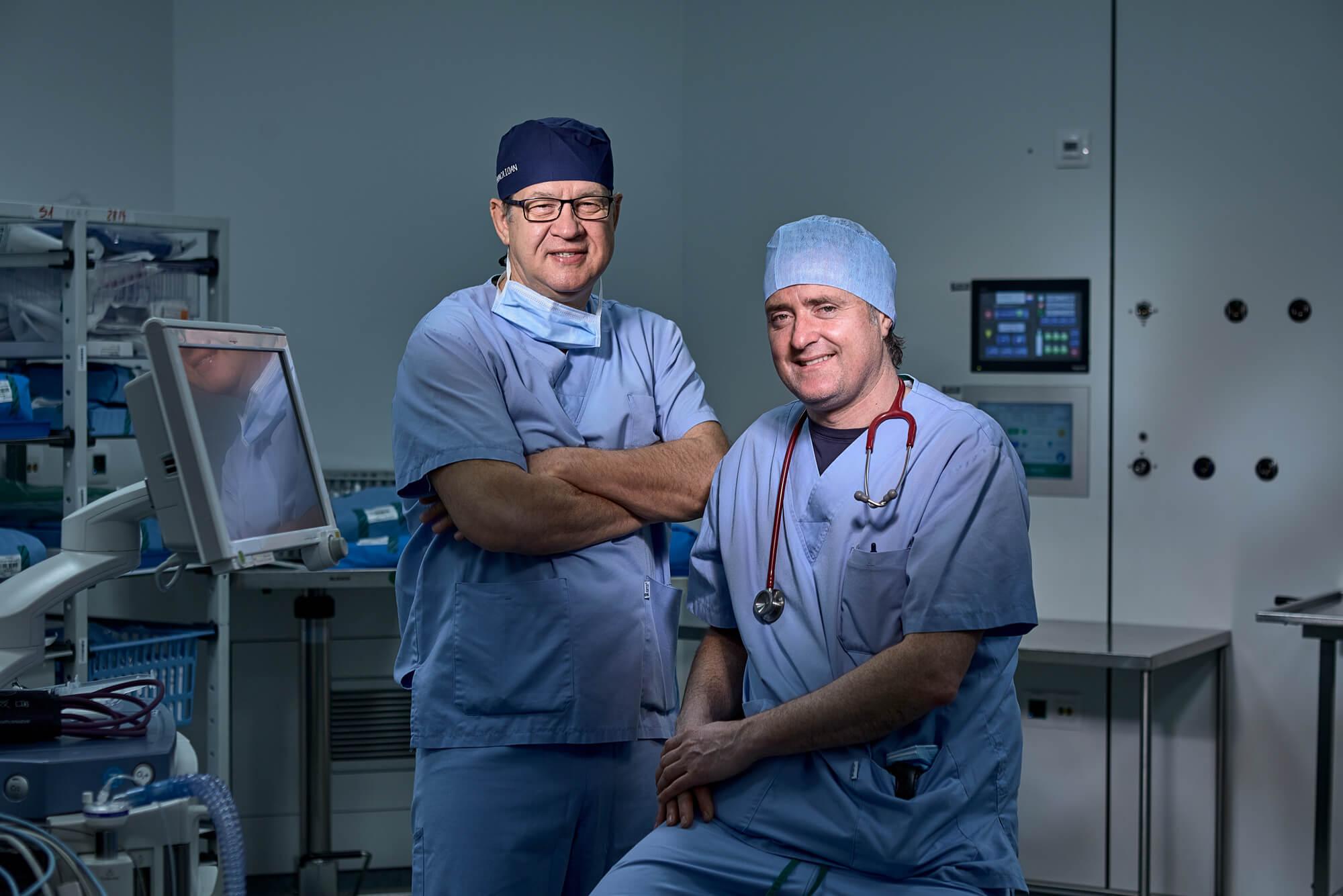 Dr.Ioan dunca with Dr. Pau