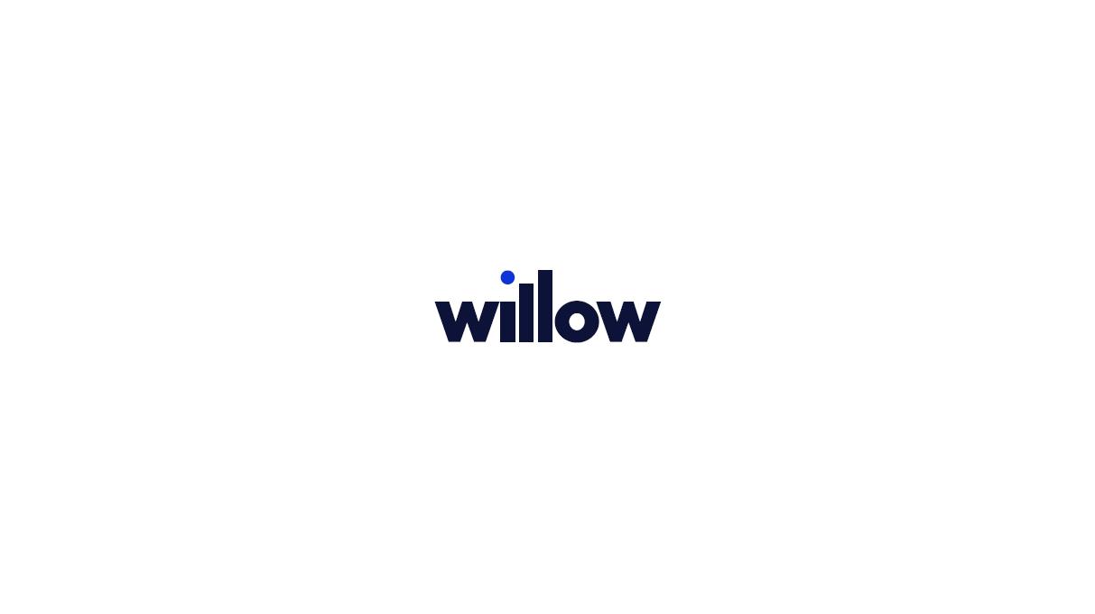 willow wordmark