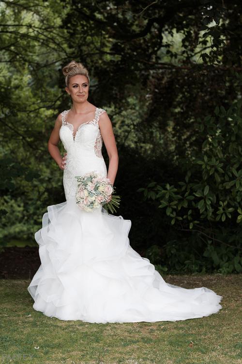 stunning bride photograph
