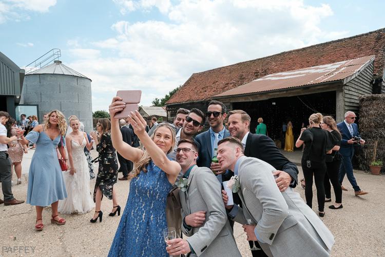 wedding selfie photo