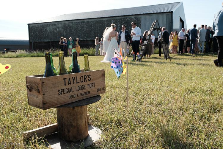 wedding games in a field