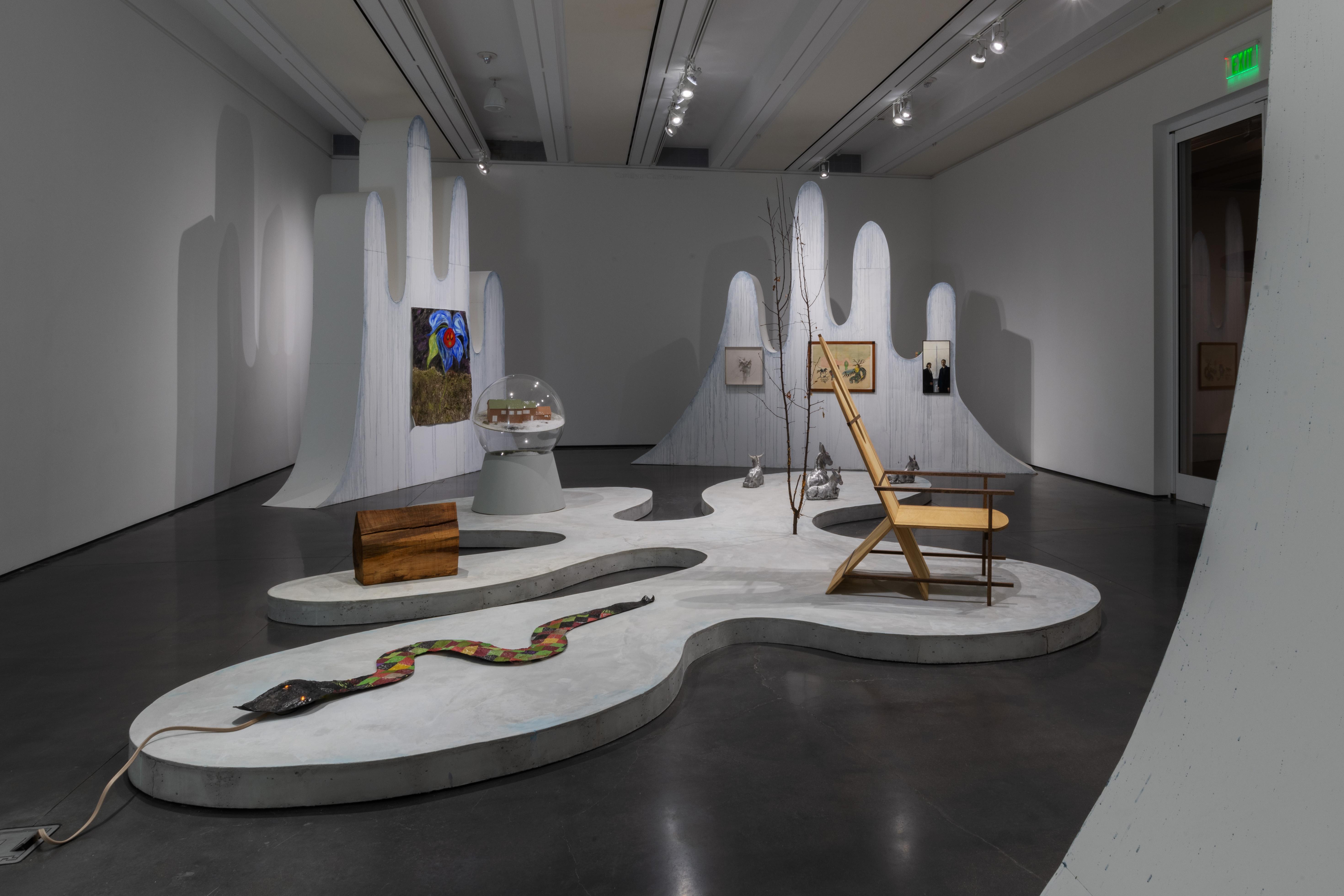 Billedet viser udstillingen 'Winterfest'