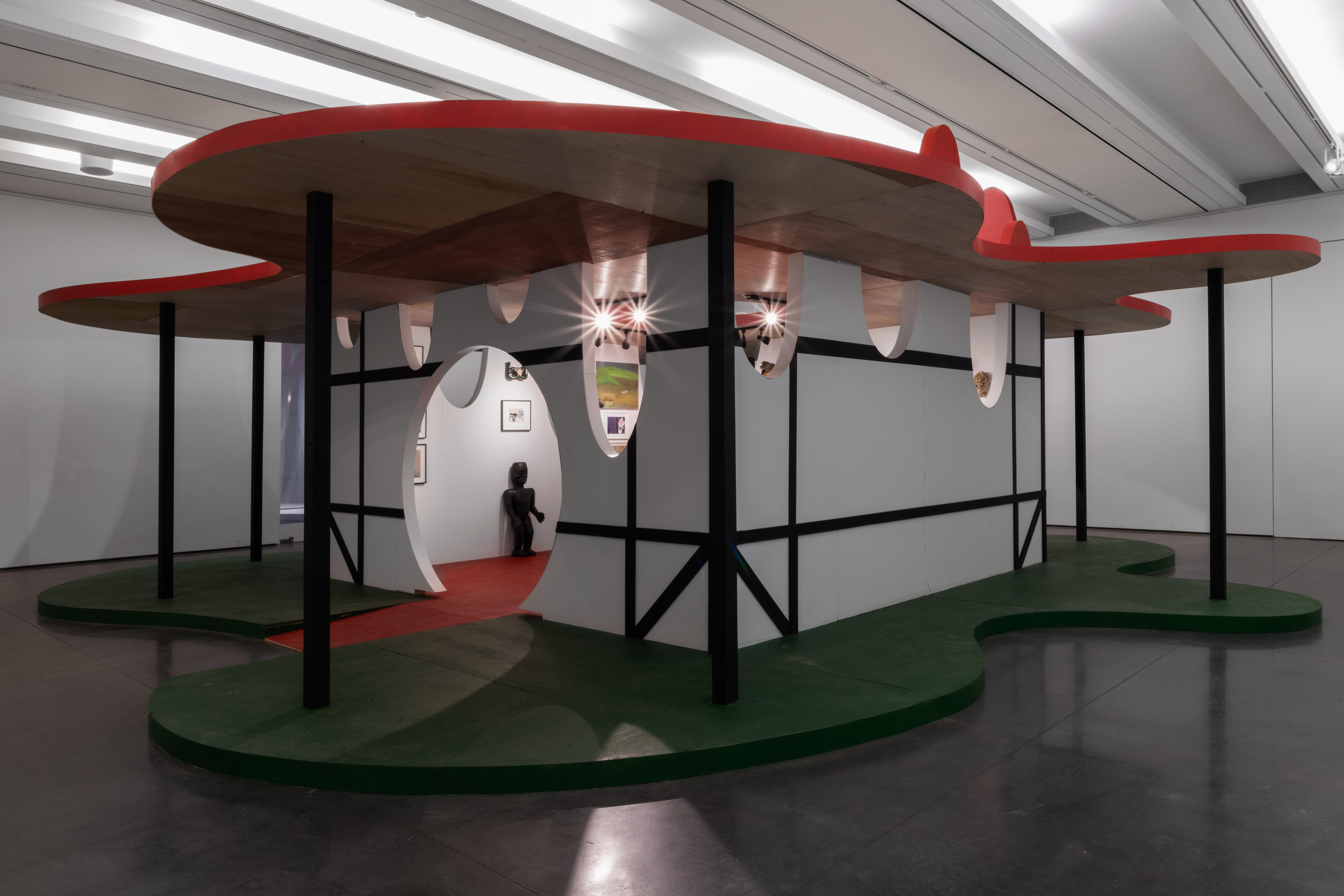 Billedet viser pavillionen fra udstillingen 'Winterfest'