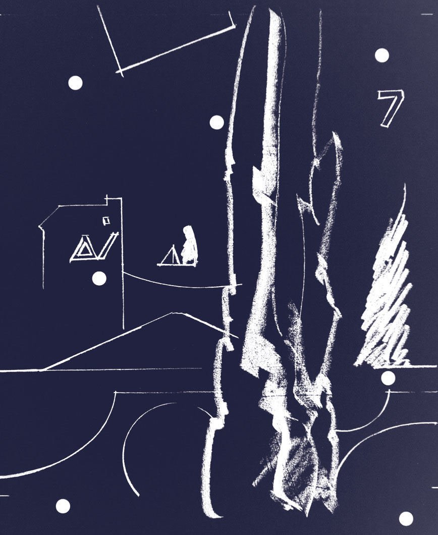 Billedet viser en skovdiagram til Nørrrebroparken