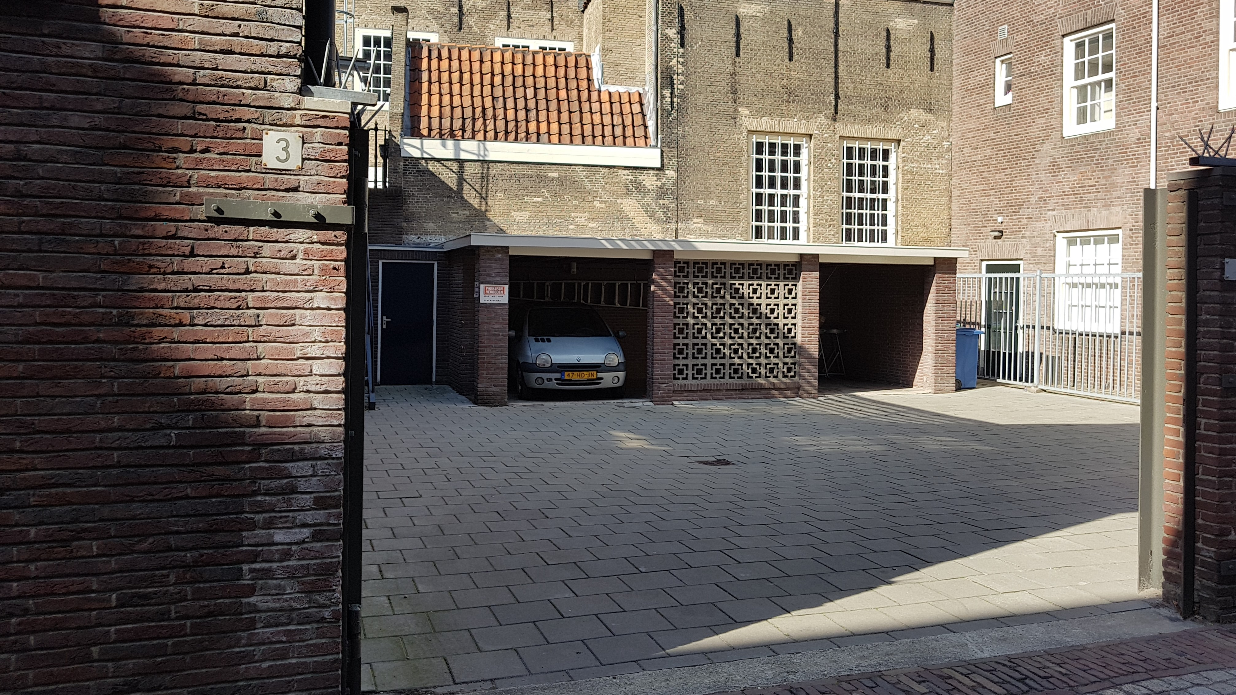 parkeren molenwerf 3 Gouda