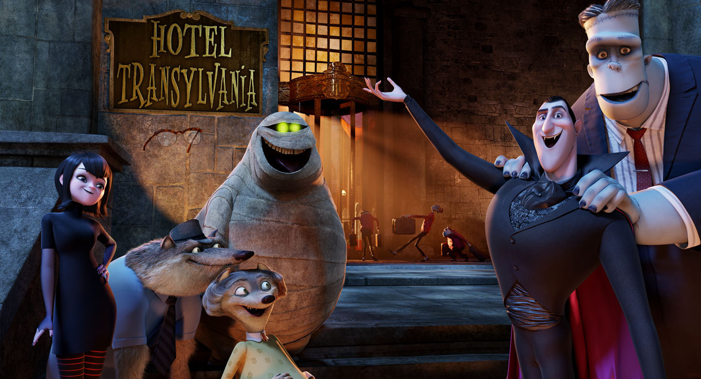 Columbia Pictures and Sony Pictures— Hotel Transylvania