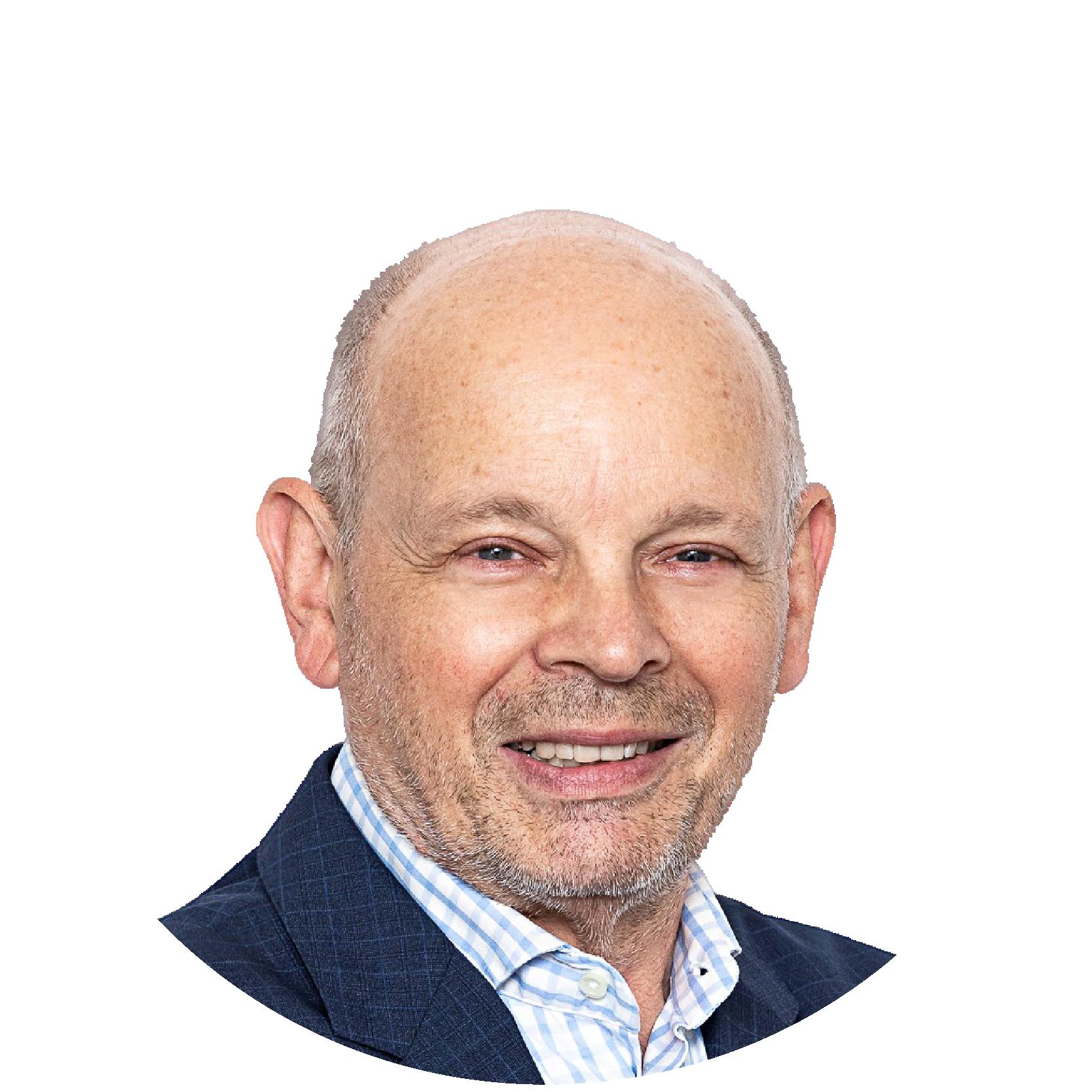 Der Journalist, Publizist und PR-Experte, Peter Menasse, moderiert seit 2015 den Menassetreff im Burgenland, Eisenstadt.