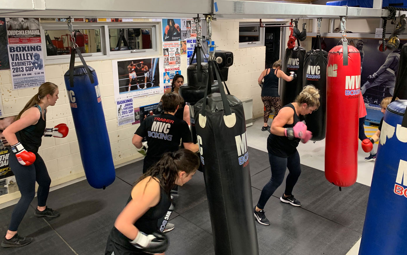 MVC Boxing - Women's Only classes available