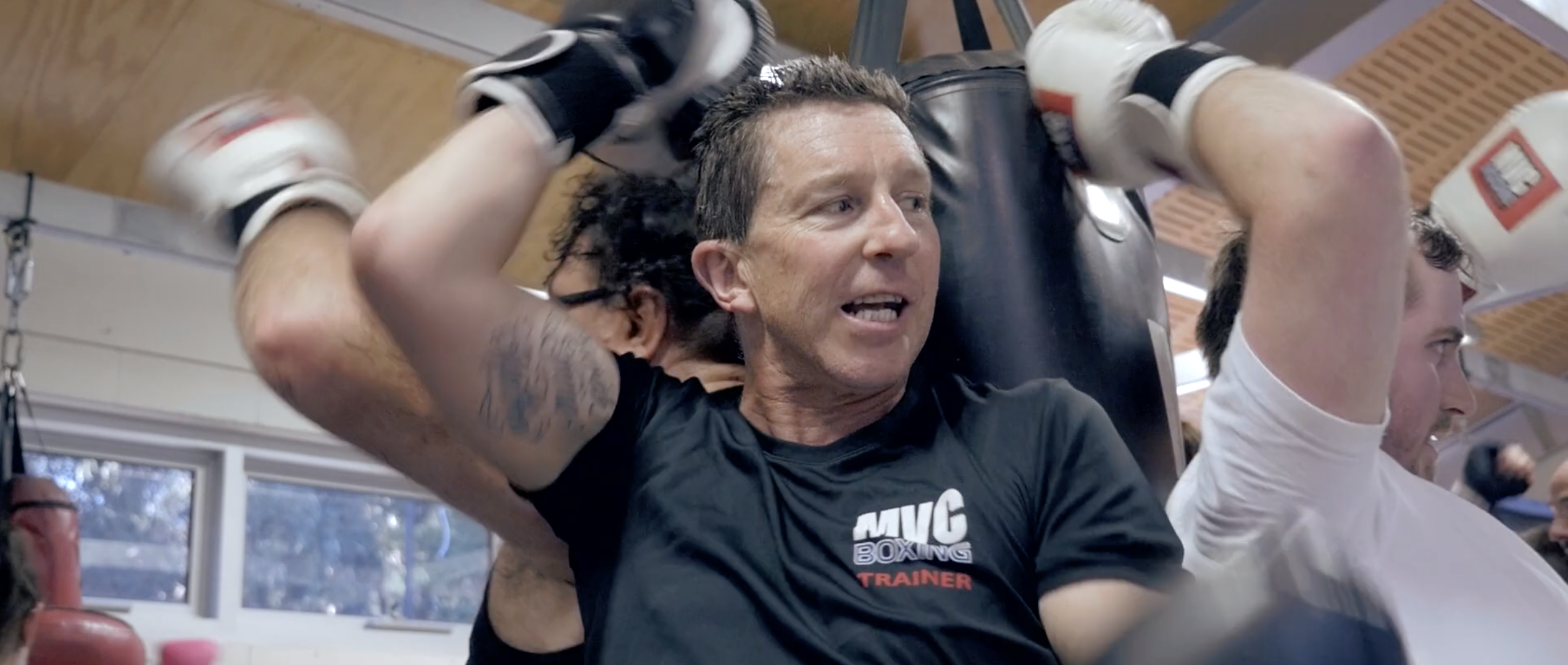 Watch our trainers, they have heart at MVC Boxing