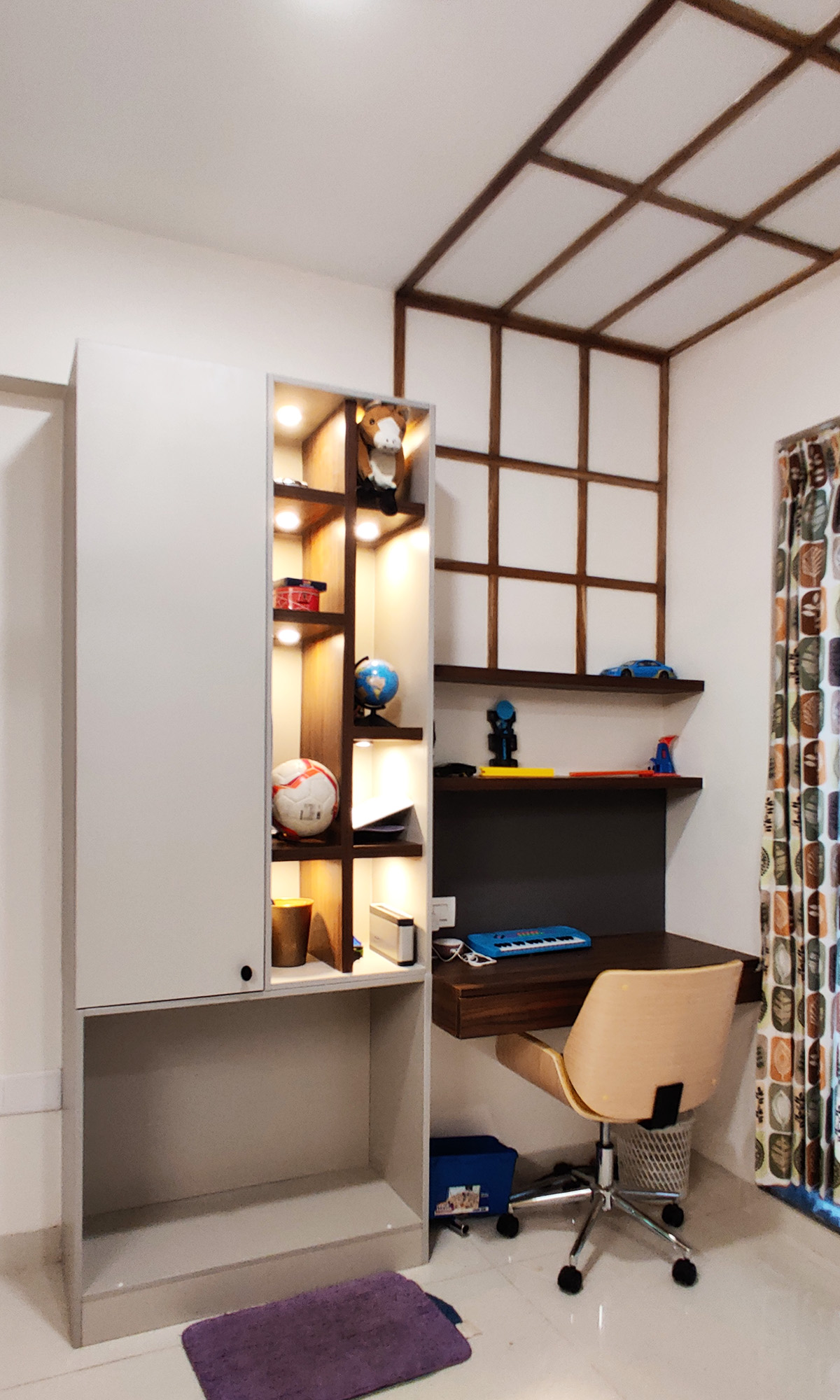 kids room study chair and table
