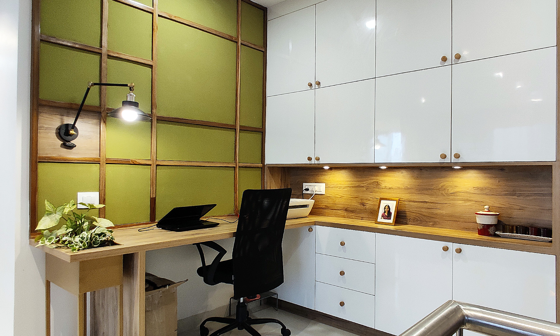 apartment study space design