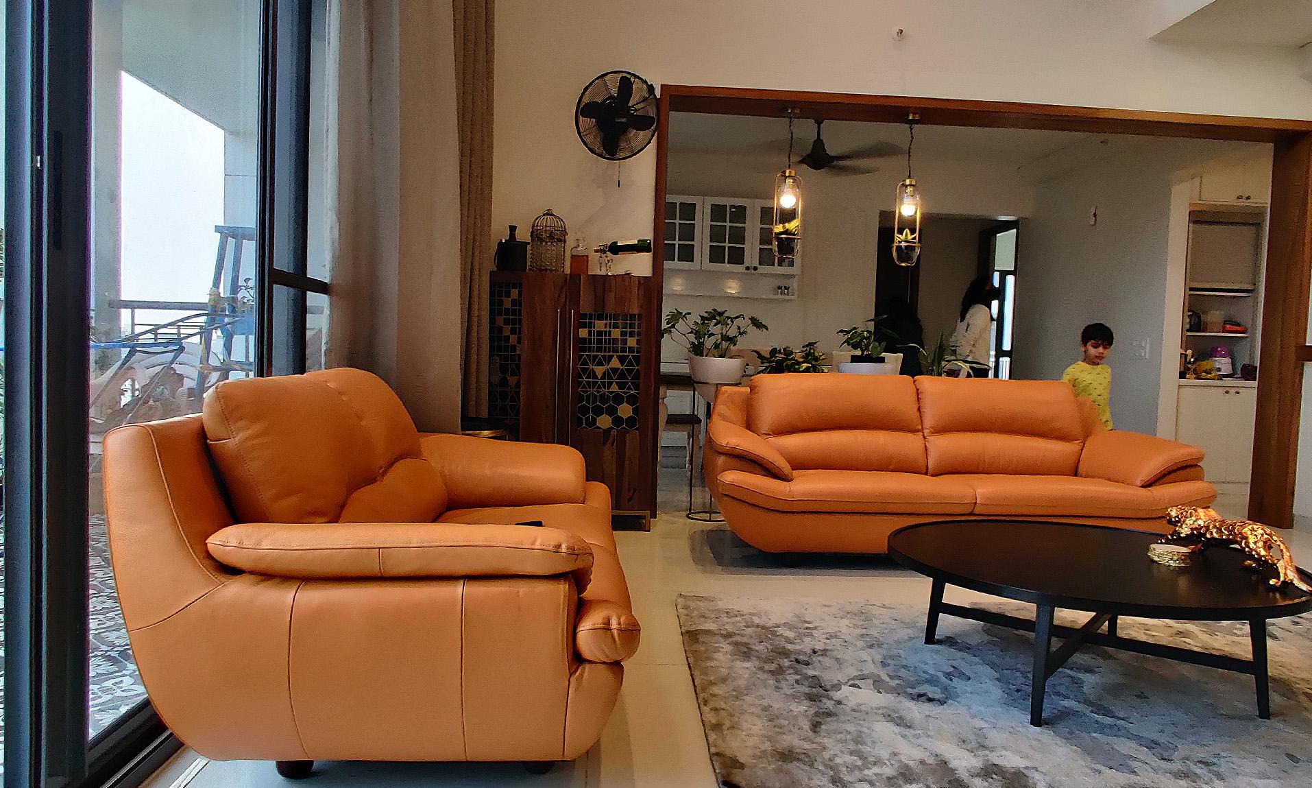 sofa around carpet and center coffee table