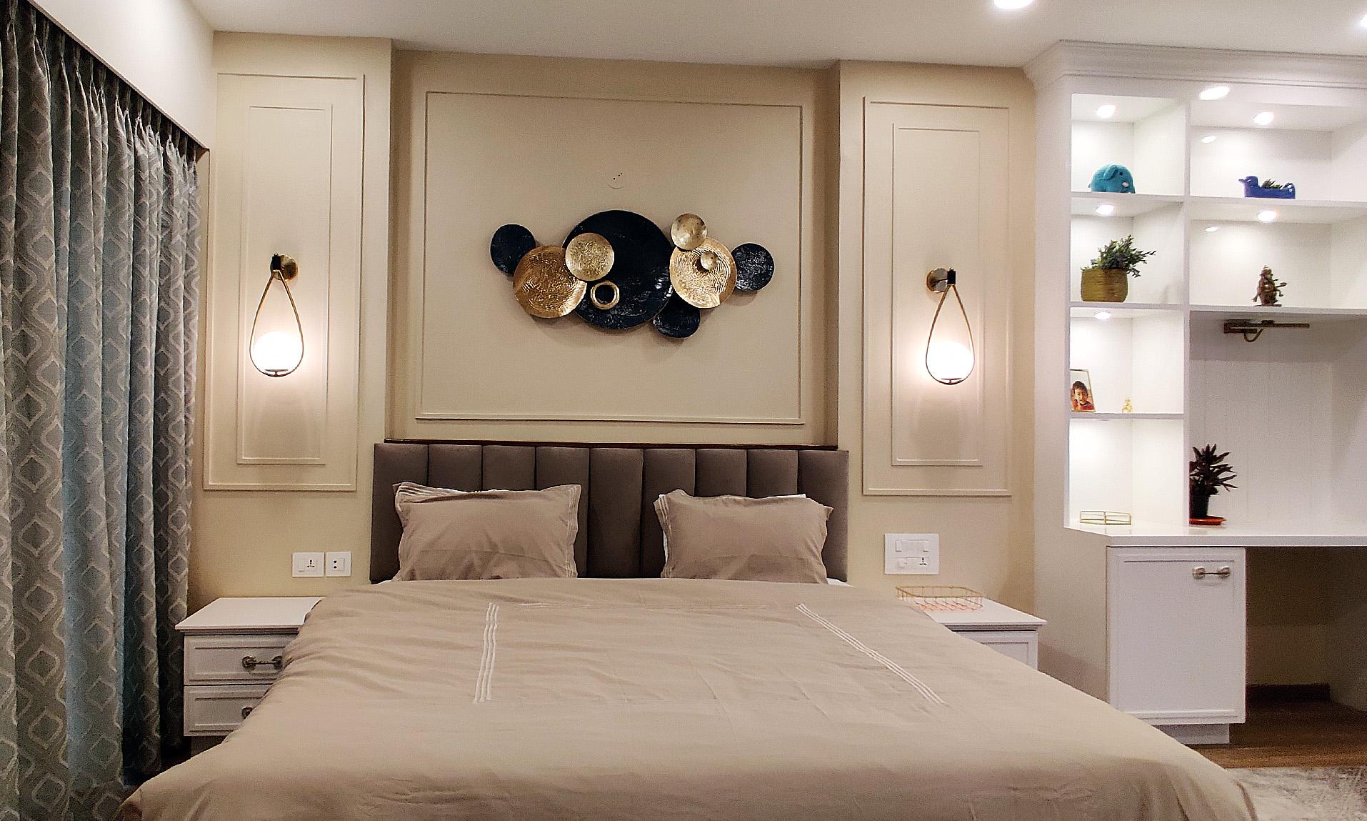 master bedroom headboard
