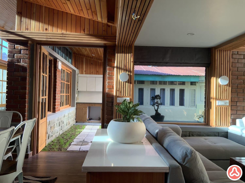 Courtyard interior design