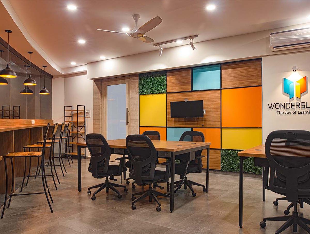 Office interiors in Bangalore