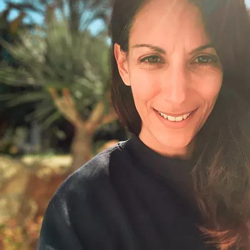 Jasmin Morssy smiling