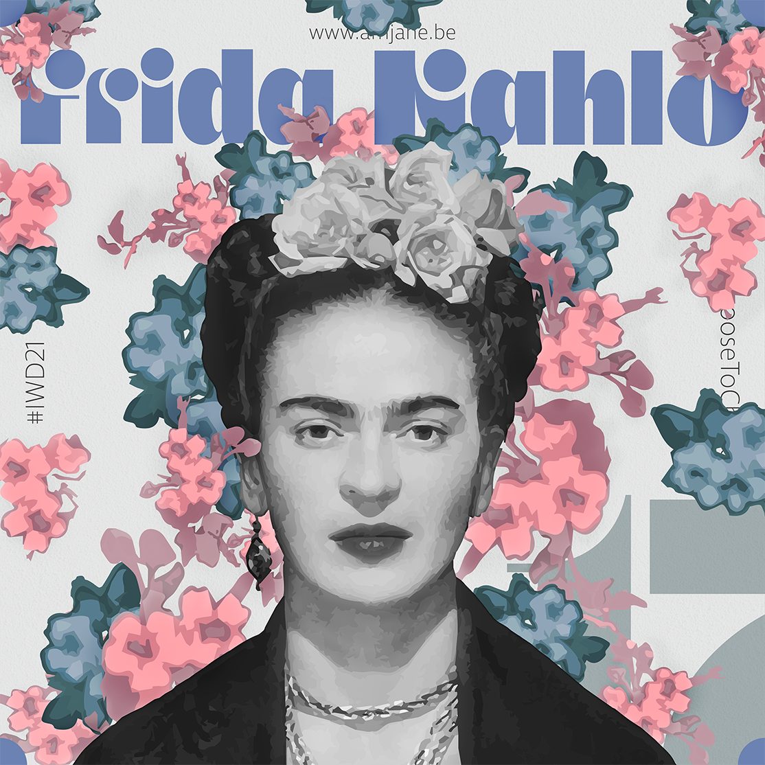 design honouring frida khalo