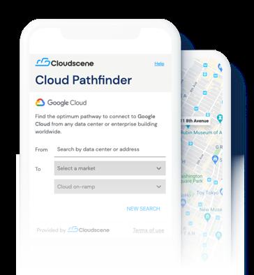 Screenshot of Google Cloud Pathfinder