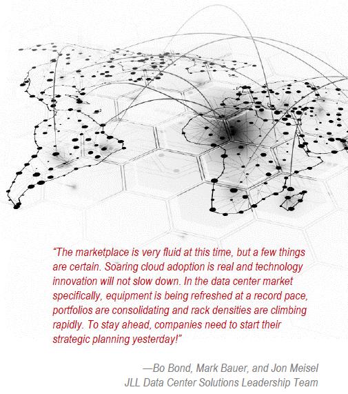 Cloudscene Data Center News - JLL Report