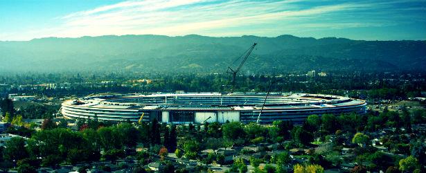 Apple Park Construction