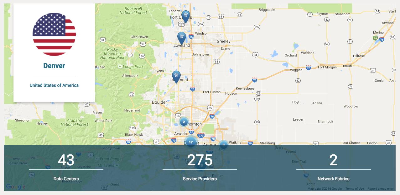 Colocation Data Centers in Denver Colorado