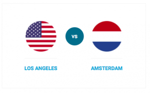 Compare Amsterdam and Los Angeles