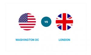 Compare Washington DC and London