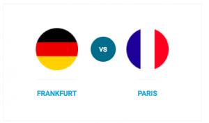Compare Frankfurt and Paris