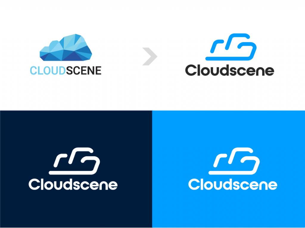 inverted colors Cloudscene brand