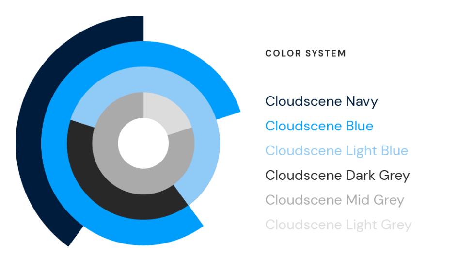 cloudscene color palette