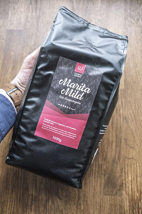 Kaffee Verpackung Luwu Kaffeewelt - Marita Mild