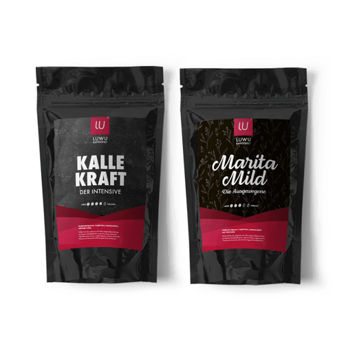 Kundenprojekt: Luwu Kaffeewelt | Logodesign, Corporate Design, Markenstrategie, Marketing