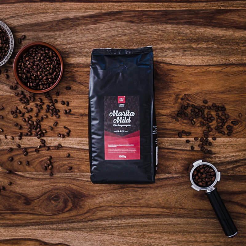 Kundenprojekt: Luwu Kaffeewelt | Logodesign, Corporate Design, Markenstrategie, Marketing