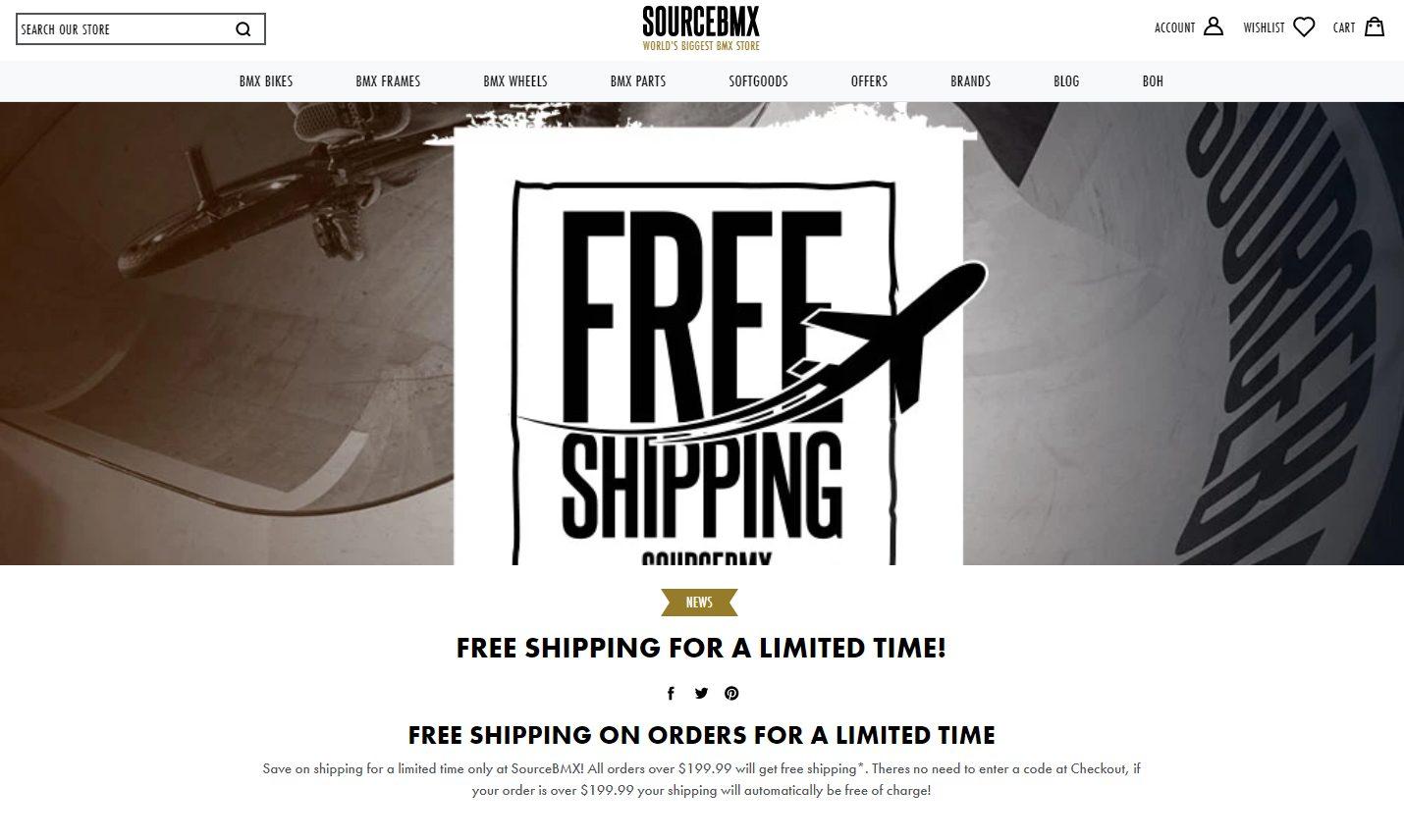 ecommerce website fomo