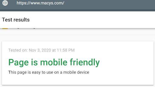 macy mobile friendly