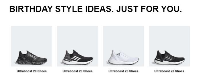Adidas' Birthday Style Ideas