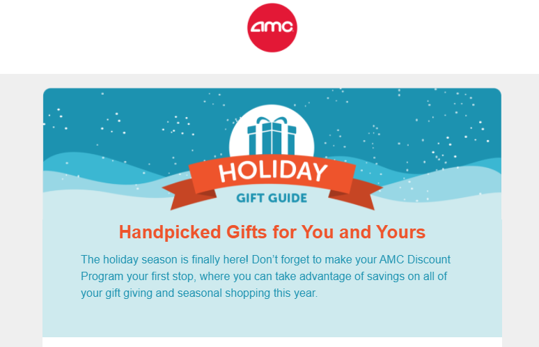 AMC's handpicked holiday gift guides