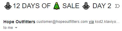 Emoji in email