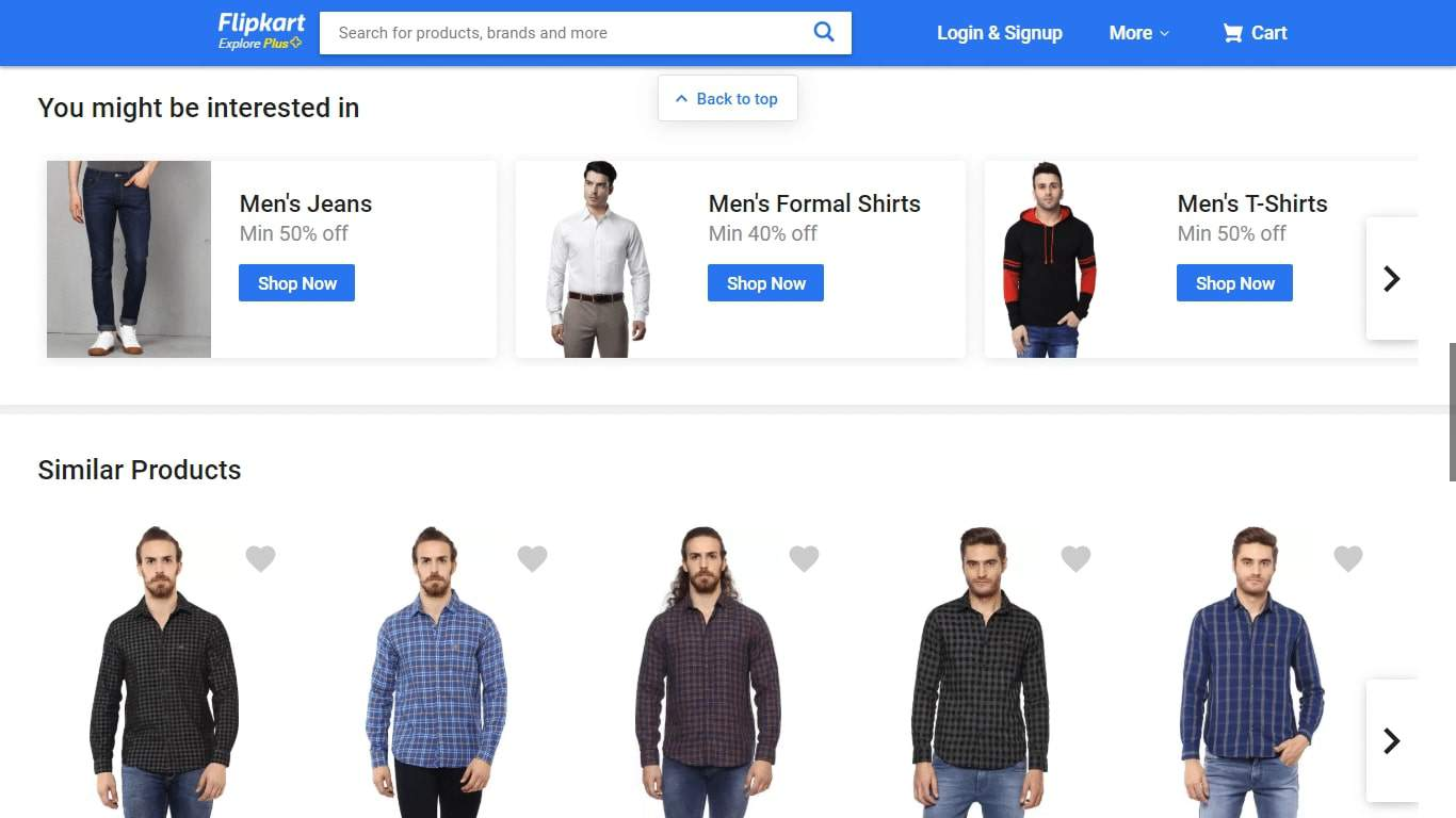Example of product personalization