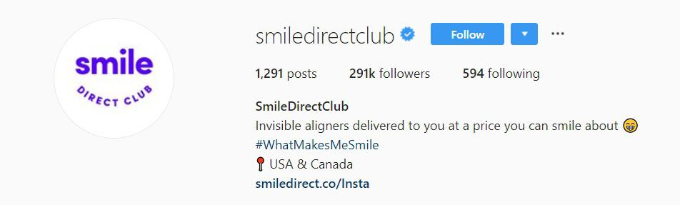 Smile direct club  Hashtags