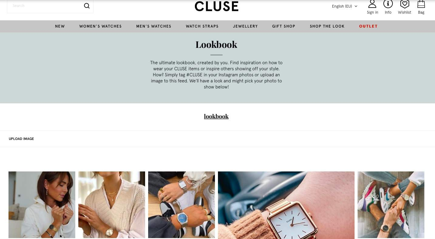 Example of how UGC content is an important part of the product page optimization