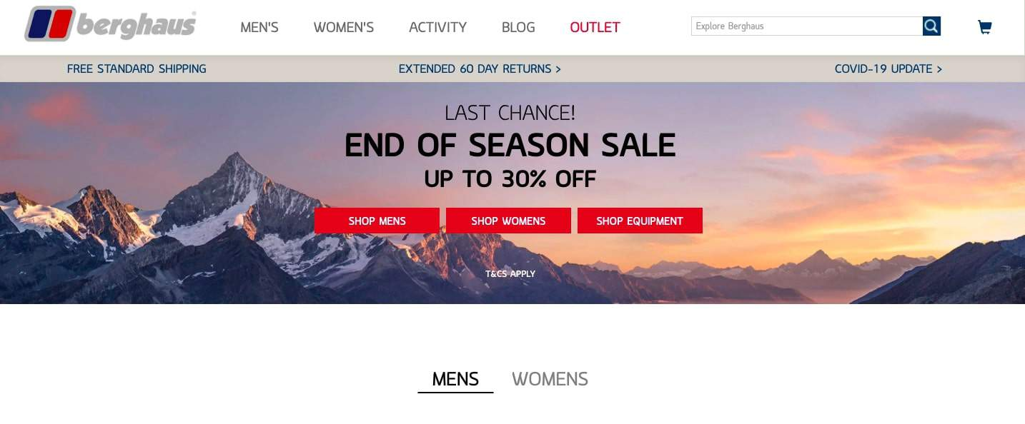 Big and clear design is extremely important in product page optimization