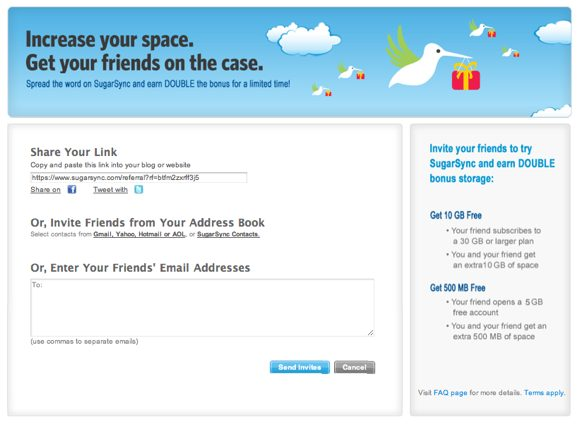growing your email list through referral programs