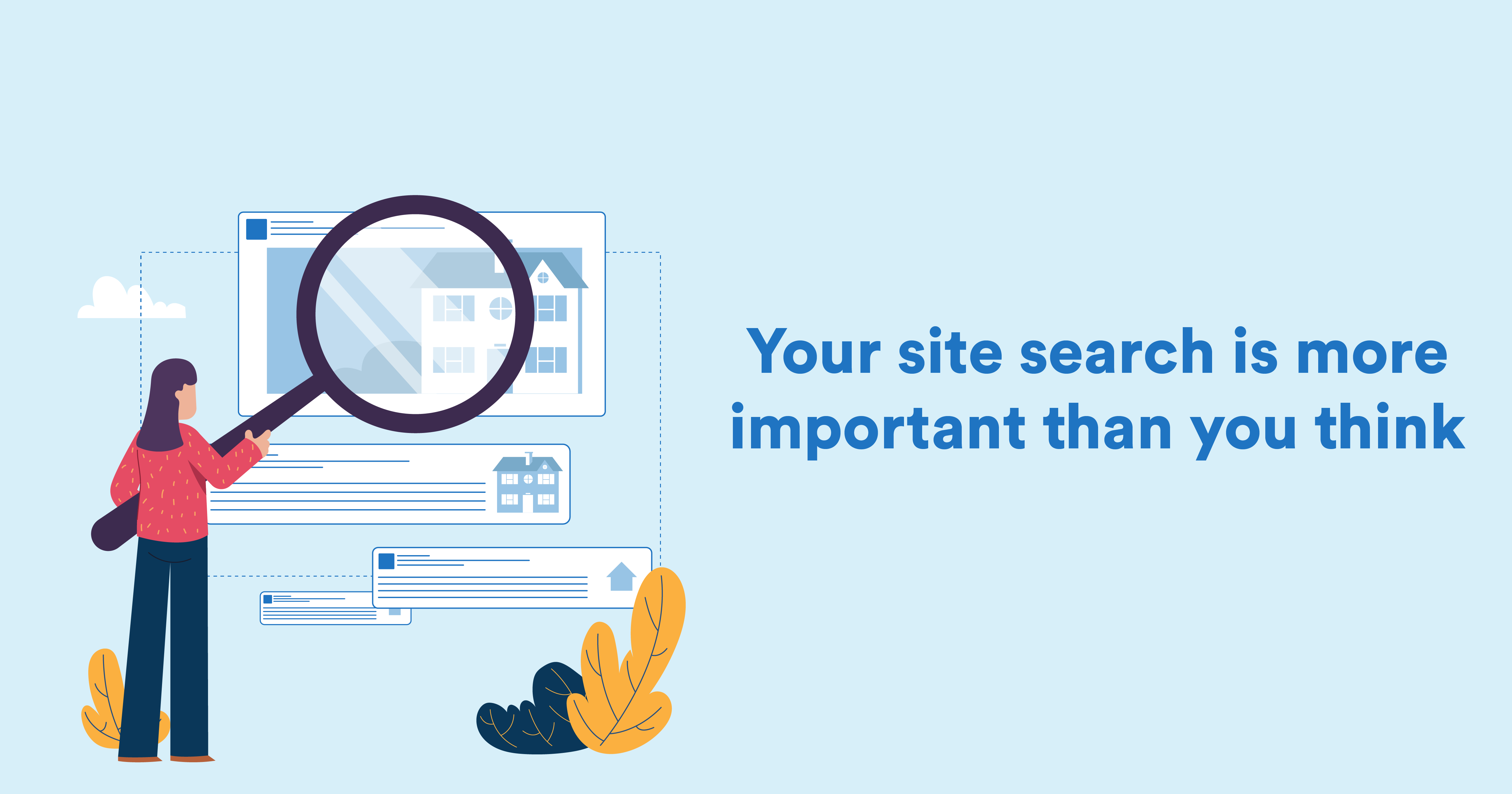 eCommerce site search: 18 improvements that prevent drop-offs (+ actual examples)
