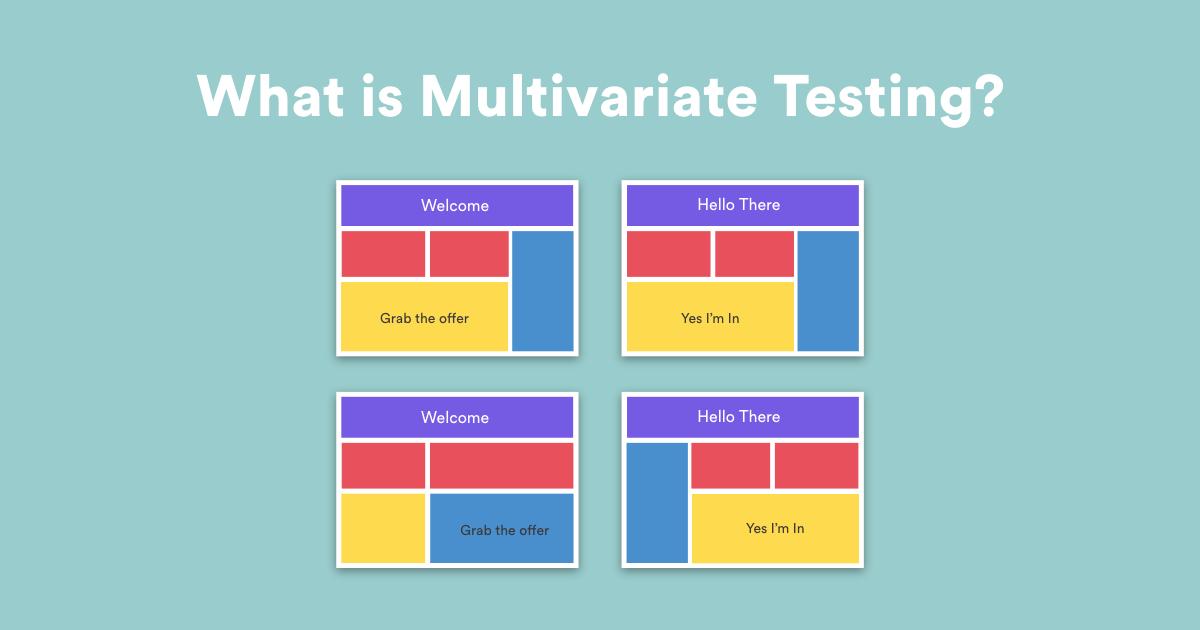 What is multivariate testing?