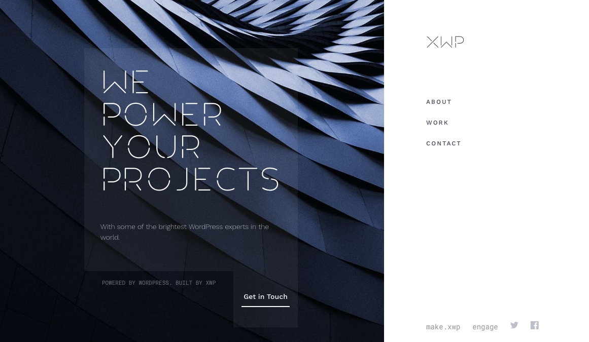 classy design by XWP